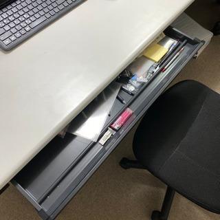 【値下げ】パソコンデスク オフィス家具 美品の画像