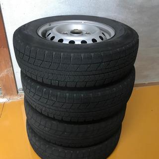 スタッドスタイヤ ホイール 4本セット 145/80R12