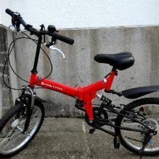 折りたたみ自転車(大野市)