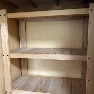 木製ラック ラック 組み立て式 収納棚 幅90cm×奥行4…