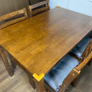 ダイニングテーブル 4脚セット