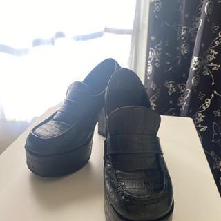 厚底の靴可愛い❤︎