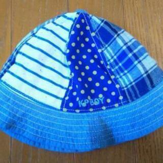【美品】KPボーイ ベビー帽子44センチ