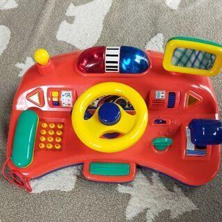 トイローヤル 緊急車両の運転おもちゃ ハンドル サウンド