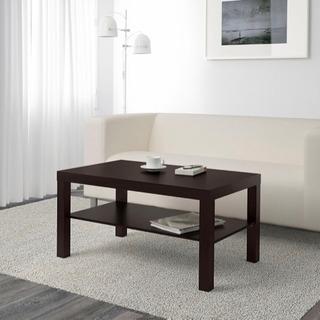 IKEA ローテーブル ブラックブラウン