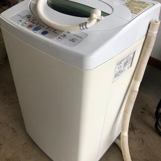 日立全自動電気洗濯機 NWー42FF型 50/60Hz共用