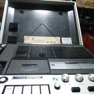 クラウンラジオカセットレコーダー(中古 ジャンク品)