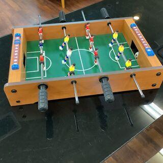 テーブルサッカーゲ 大人と子供のミニポータブルレクリエーシ…