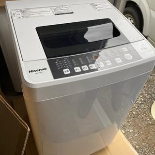 激安‼️分解洗浄済み‼️ハイセンス洗濯機5.5kg 201…