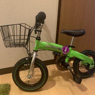 【ネット決済】ヘンシンバイク へんしんバイク 色 緑