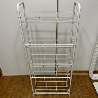 キッチン 隙間収納 ワゴン 5段 カインズ IKEA 無印