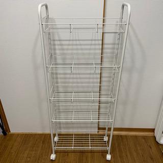 キッチンワゴン 隙間収納 5段 カインズ IKEA 無印