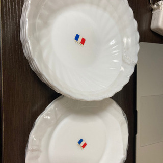 白いお皿(未使用)