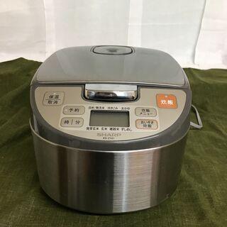 シャープ SHARP マイコン炊飯ジャー 5.5合炊き 炊飯容量...