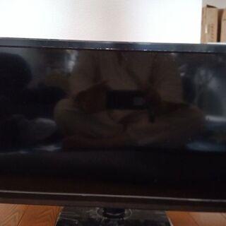 24型DVD再生機能、USB外付HDD対応地デジ専用TV