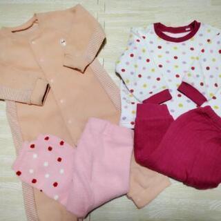 【無料!!】ベビー服3点セット 80サイズ パジャマ 子供…