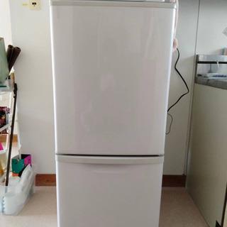 冷蔵庫 138L Panasonic NR-B142W