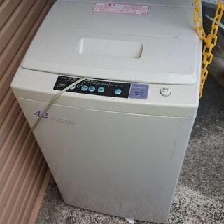 日立 全自動洗濯機 NW-42F