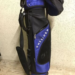 ONESIDER ワンサイダー キャディバッグ ゴルフバッグ スタンド付の画像