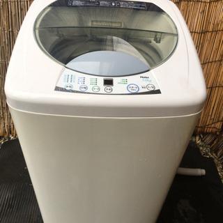ハイアール全自動洗濯機5.0kgステンレス槽2010年製