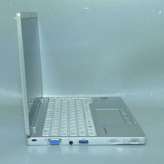 送料無料 中古良品 軽量モバイル ノートパソコン 10.1型 Panasonic CF-RZ4ADKCS CoreM 8GB SSD-128GB 無線 カメラ Windows10 LibreOffice - 売ります・あげます