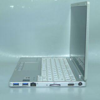送料無料 中古良品 軽量モバイル ノートパソコン 10.1型 Panasonic CF-RZ4ADKCS CoreM 8GB SSD-128GB 無線 カメラ Windows10 LibreOffice − 東京都