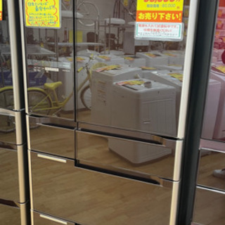 HITACHI製★2013年製670L大型冷蔵庫★6ヵ月間保証★...