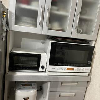 パモウナカップボード 食器棚