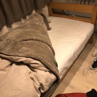 【急募】シングルベッド 無印良品