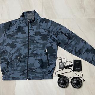 空調服一式売ります。『上着は新品の未使用』です⁉️