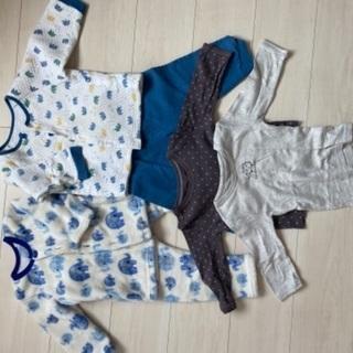 90センチ 冬用パジャマ 長袖シャツ セット