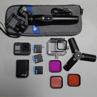 GoPro HERO8 BLACK / ジンバル / 防水ケースセット