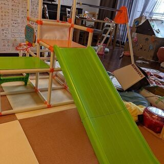 こども用室内用ジャングルジム おりたたみロングスロープ キッズパークSP - 名古屋市