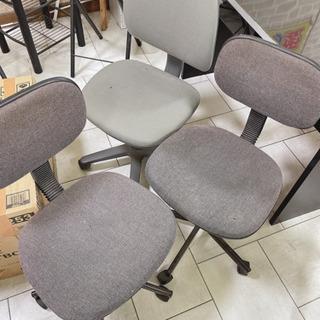 🎶至急処分!!オフィス椅子3個、早く受け取れる方限定!300円の画像