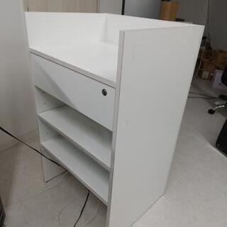 【オーダーメイド品】使いやすいカウンター収納棚