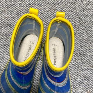 子供用 長靴 15cm レインブーツ