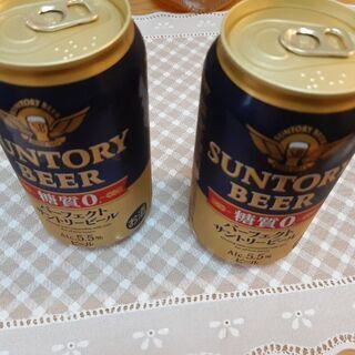 サントリーパーフェクトビール糖質ゼロ2本