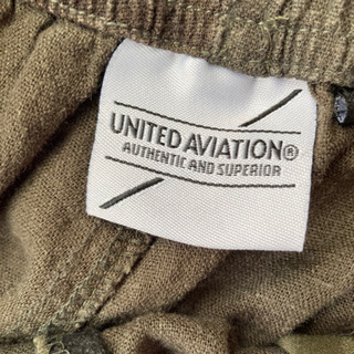 United Aviation L メンズ パンツ 迷彩柄 - 服/ファッション
