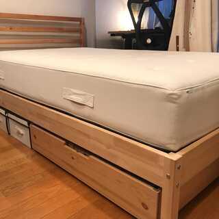 【85%OFF・IKEA・ベッドセット・ハイグレード・ネッ…