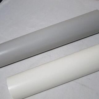 ラップ詰め替えケース 白とグレー 2種類の長さまとめて2個