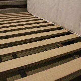 ニトリ シングル(ベッド・マットレスのセット) - 家具