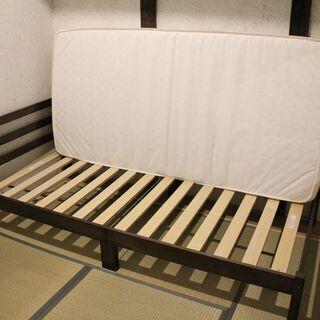 ニトリ シングル(ベッド・マットレスのセット) - 京都市