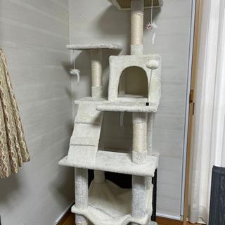 キャットタワー 3ヶ月使用 - 家具