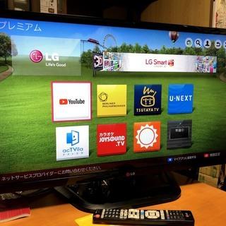 YouTubeがサクサク動く 32v型 smart TV LG ...