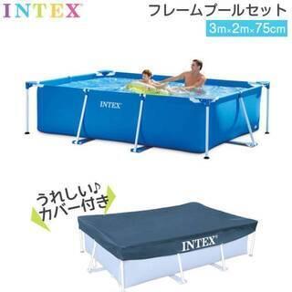 インテックス(INTEX) プール カバー付300×200…
