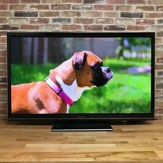 即日受渡❣️薄型3D Panasonic50型TV WiFi内蔵