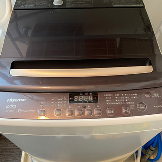 全自動洗濯機  [洗濯8.0kg /乾燥機能無 /上開き]