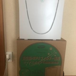 空気清浄機 ツインバードAC-D358 高性能フィルター