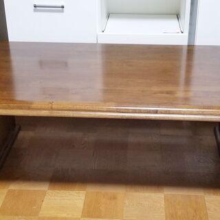🔵市内及び近郊配達無料 高級大き目のローテーブル センターテーブル