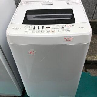 ☆中古 激安!! HISENSE 洗濯機 2017年製 H…